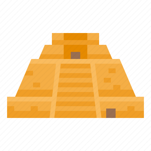 landmark, magician, mexico, of, pyramid, the icon