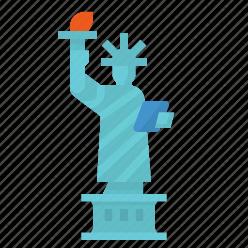 monument, new, united, york icon