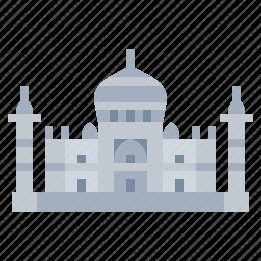 architectonic, indian, landmark, mahal, taj icon