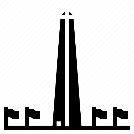 dc, landmark, monument, washington icon
