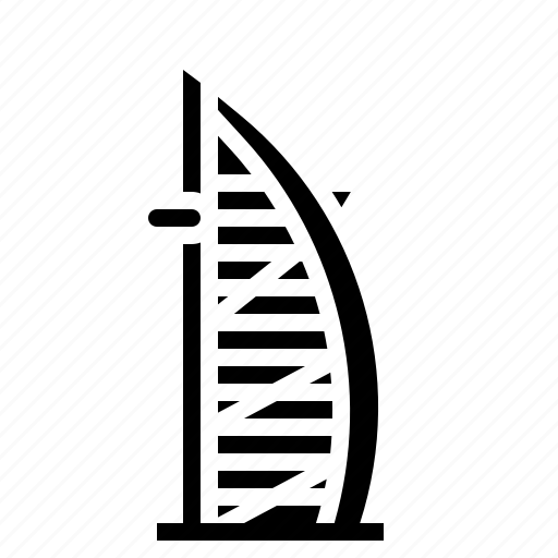 al, arab, building, burj, dubai, landmark, tower icon