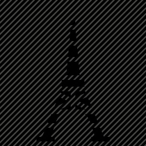 building, landmarktokyo, tokyo, tower icon