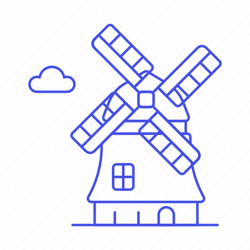 architecture, construction, landmarks, national, netherland, structure, symbol, windmills icon