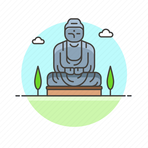 architecture, buddha, famous, great, landmark, monument, statue icon