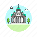 architecture, cathedral, famous, finland, helsinki, landmark, monument icon