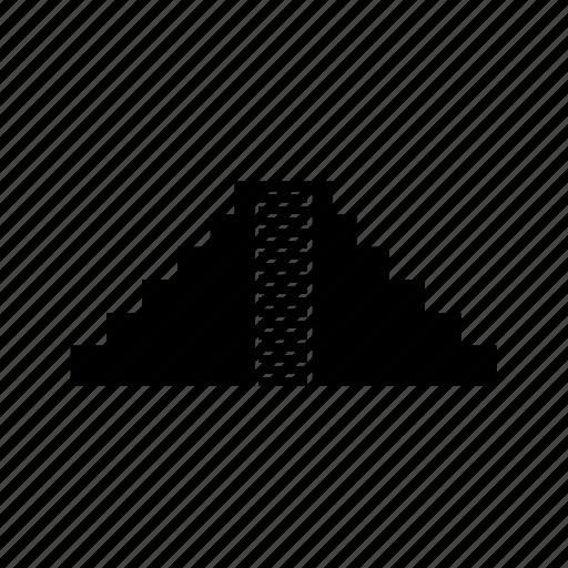 chichen, itza, landmark, mexico, pyramid icon