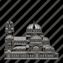 landmarks, sofia, famous, world, nevsky, cathedral, alexander icon