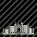 atlantis, landmarks, famous, palm, world, the icon