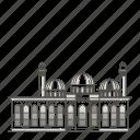 bibi, landmarks, mosque, famous, heybat, world icon