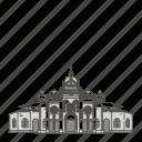famous, landmarks, cartago, world icon