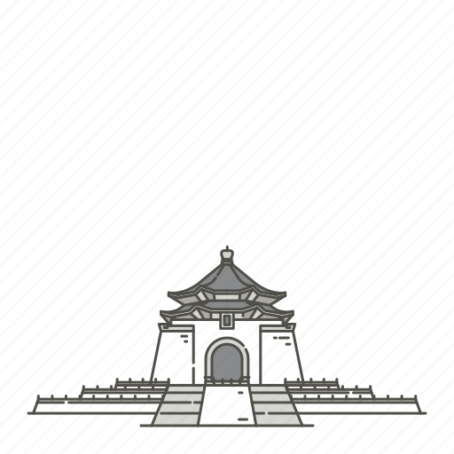 chiang, famous, hall, kai, landmarks, memorial, shek icon