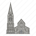 famous, landmarks, christchurchcathedral, world icon