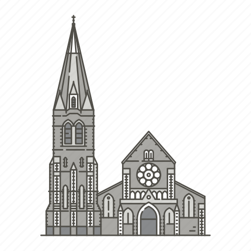 christchurchcathedral, famous, landmarks, world icon