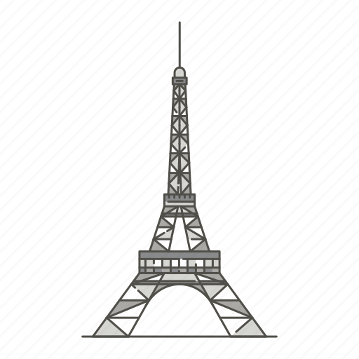 eiffel, famous, landmarks, tower, world icon