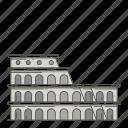 colosseum, famous, landmarks, world