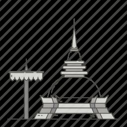doi, famous, landmarks, suthep, world icon