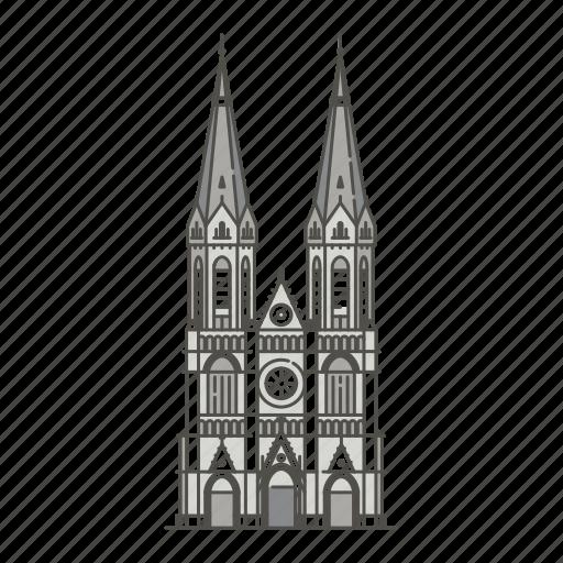 famous, heuvelse, kerk, landmarks, netherlands, tilburg, world icon