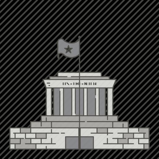 famous, hochiminh, landmarks, mausoleum, world icon