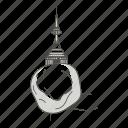 famous, kyaiktiyo, landmarks, pagoda, world icon
