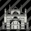 ali, famous, landmarks, mosque, muhammad, of, world icon