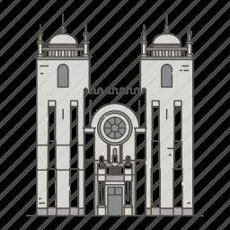cathedral, famous, landmarks, porto, world icon