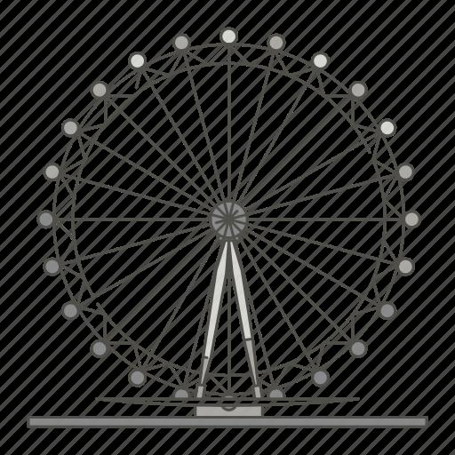 eye, famous, landmarks, london, world icon