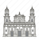 bogotr, cathedral, famous, landmarks, of, primatial, world icon