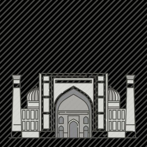 dor, famous, landmarks, madrasah, sher, world icon