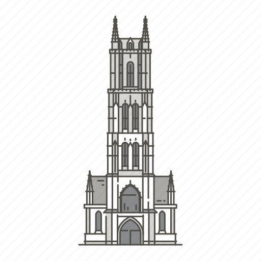 bavos, cathedral, famous, ghent, landmarks, st, world icon