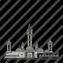 famous, landmarks, senegal, touba, world icon