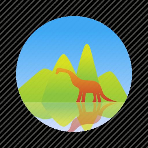 dinosaur, ecology, jurassic, nature icon