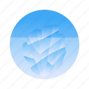 hidden, iceberg, illusion, success icon
