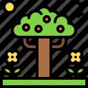 landscape, land, terrain, tree, forest