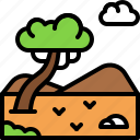 landscape, land, terrain, tundra