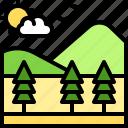 landscape, land, terrain, plain, moutain