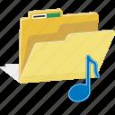directory, file, folder, music, note, sound