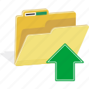 directory, documents, file, folder, storage, upload icon
