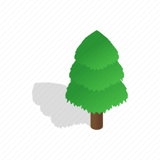 branch, christmas, decoration, design, fir, isometric, spruce icon