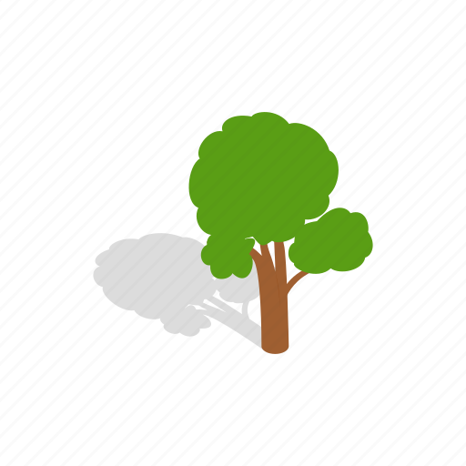 branch, design, environment, green, isometric, nature, tree icon