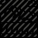 landscape, land, terrain, field, mountain