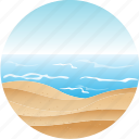 beach, hotel, landscape, nature, pacific, tourism, tropical icon