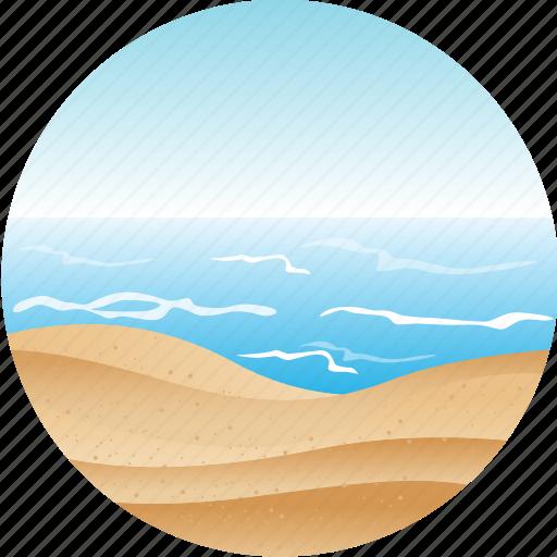 beach, hotel, landscape, nature, pacific, tourism, tropical icon