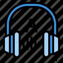 listen, earphone, sound, headphone, audio
