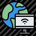 worldwide, world, computer, internet