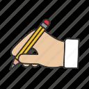 drawing, editing, hand, handwriting, pencil, write, writing