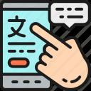 online, phone, speak, translate, translation