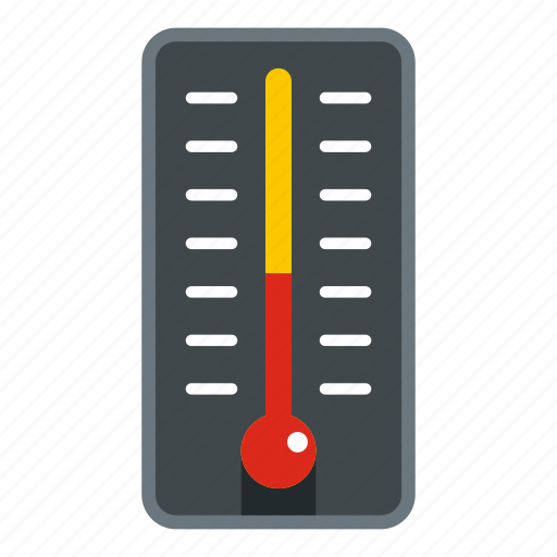 celsius, instrument, measurement, scale, temperature, thermometer, weather icon
