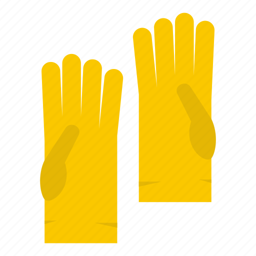 care, glove, hand, household, latex, protection, rubber icon