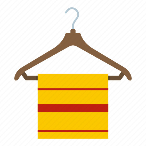 cloth, hanger, rack, scarf, stylish, tippet, towel icon