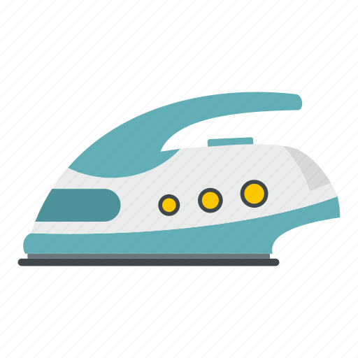appliance, cable, electrical, household, iron, steam, tool icon